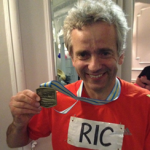 Ric Adams completed One-and–a-half marathons