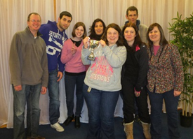 Sutton Christian Centre Winning Quiz Team